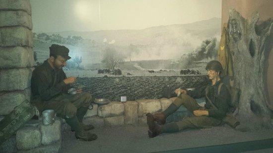 Museo Storico dello Sbarco in Sicilia 1943: Simulazione