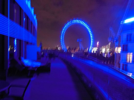 Park Plaza Westminster Bridge London: Executive room view of the London eye - worth it