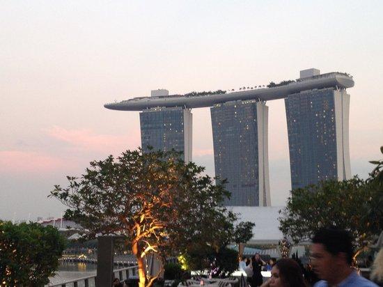 Lantern Rooftop Bar: Wiev of Marina Baysands