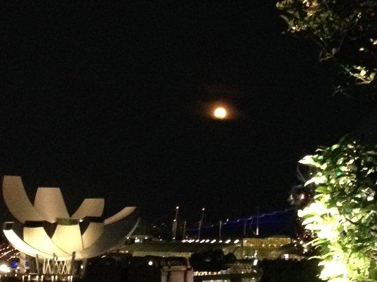 Lantern Rooftop Bar: Singapore by night
