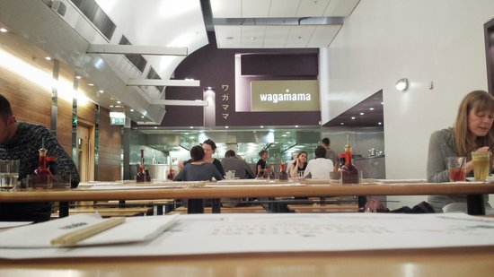 Wagamama: Very clean venue