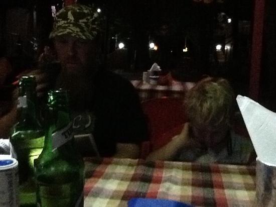 Arambol Residensea: in the restaurant...