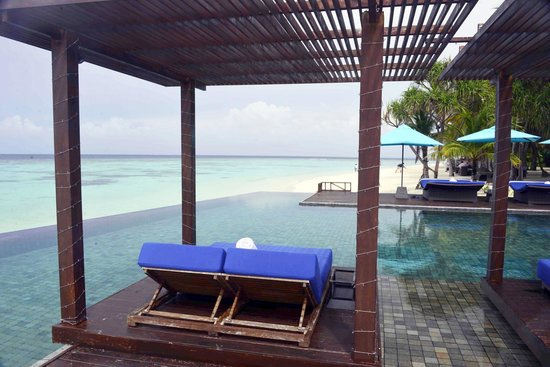 Dhevanafushi Maldives Luxury Resort Managed by AccorHotels: Island pool area