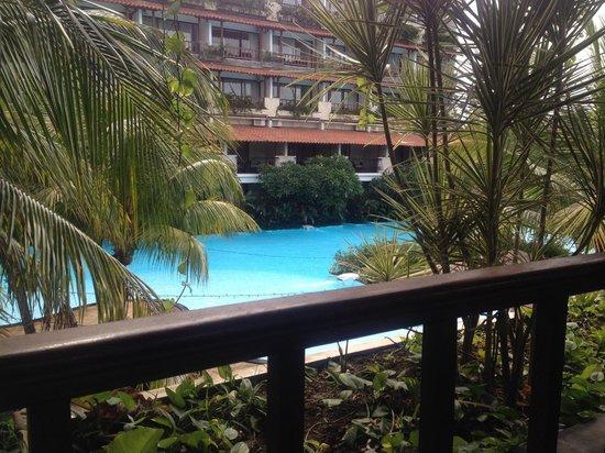 Swiss-Belhotel Segara Resort & Spa: Breakfast view