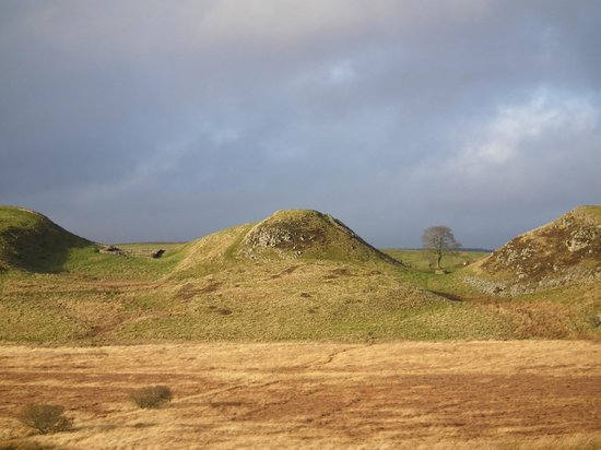 Northumberland National Park, UK: Sycamore Gap & Milecastle 39