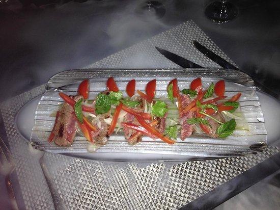 LUX Le Morne: plat au restaurant Thai