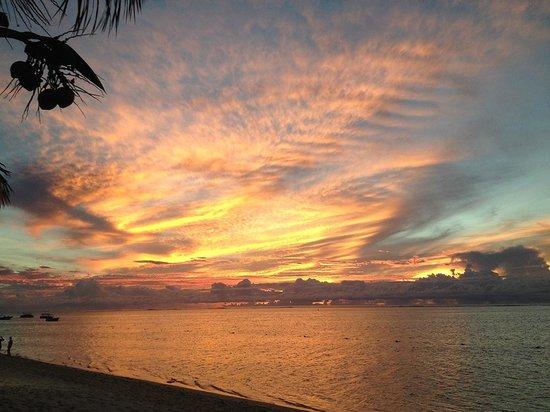 LUX Le Morne: coucher de soleil