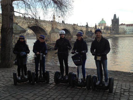 Segway Experience Tours & Rents: In front of the Charles Bridge