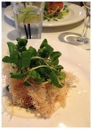 Harvest Restaurant: Crispy Scallops