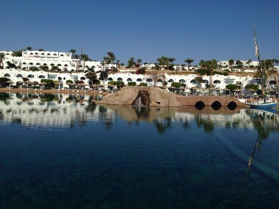 Domina Coral Bay Prestige Hotel : Lago salato