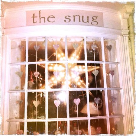 The Snug: Our welcoming window