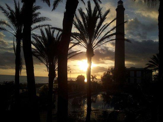 IFA Faro Hotel: Puestas de sol maravillosas