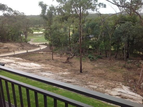 Riverside Oaks Golf Resort: View from balcony