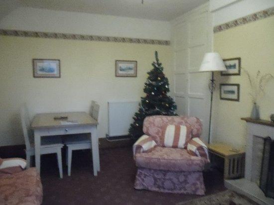 Hendersyde Farm Cottages: Lounge