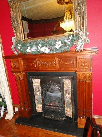 Bluebell House: Kamin / fireplace