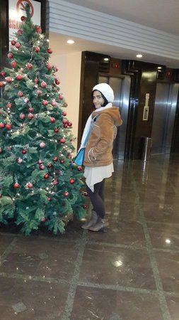 Lamartine Hotel: Christmas Tree at Lamartine