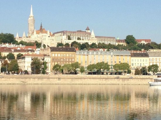 InterContinental Budapest : View to the Castle Hill