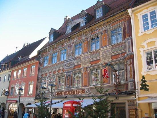 Altstadt von Fuessen: La farmacia