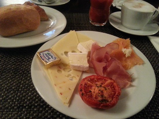 Abba Berlin Hotel: Perfect breakfast