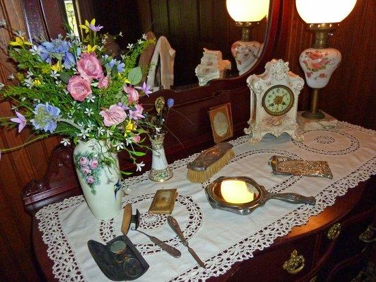 Stranahan House: beautifully set table