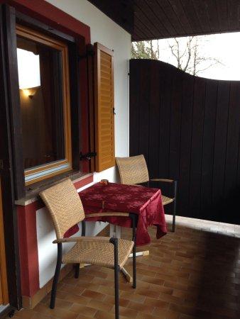 Hotel Der Waldhof: Terrazzino