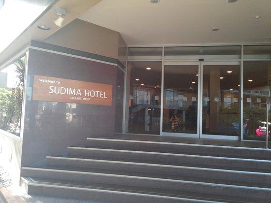 Sudima Hotel Lake Rotorua: entrance