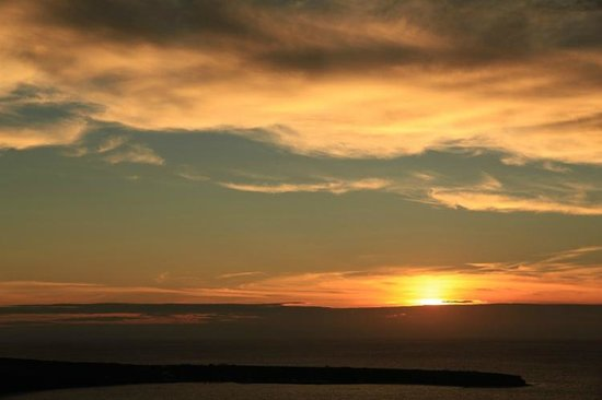 Kastro Oia Restaurant: the great sunset