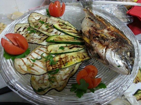 Movida: Orata alla griglia con verdure!