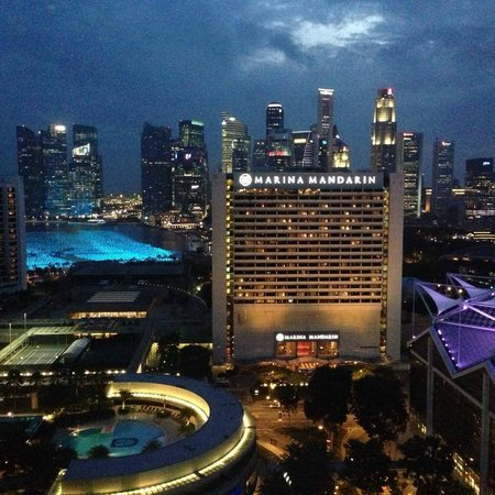Conrad Centennial Singapore : Room View