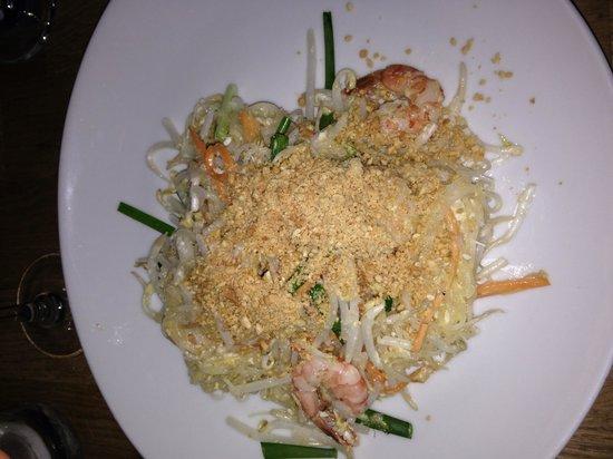TUK TUK : Thai Street Food : Padthaï crevette