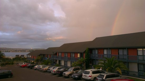 Lakeland Resort Taupo : Somewhere over the rainbow