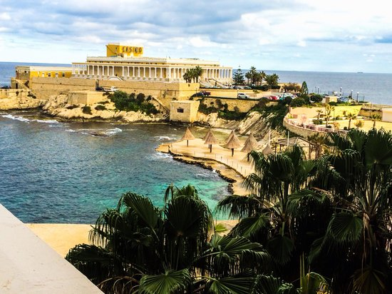 The Westin Dragonara Resort, Malta: The view from our balcony!