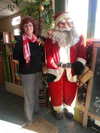 Chez Regine: Régine et le Père Noël