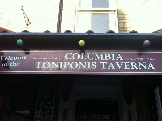 Welcome to Columbia Taverna