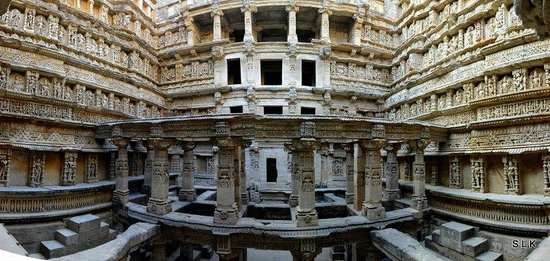 Gujarat, Inde : The stone have stories to share