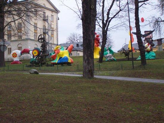Skeppsholmen: paysage