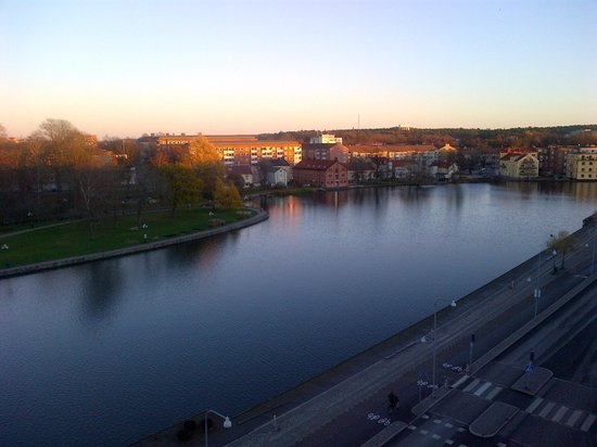 Comfort Hotel Eskilstuna: View during late afternoon