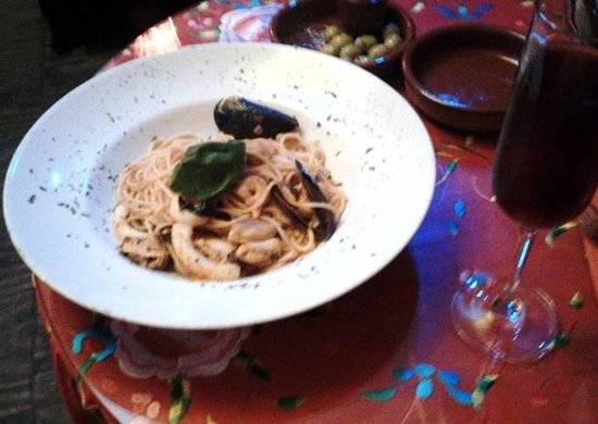 Mamma Ttina: espaghetti frutti di mare