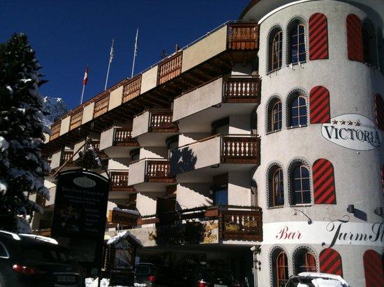 Turmhotel Victoria Davos: Hotel