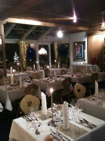 Turmhotel Victoria Davos: sala cenone di capodanno