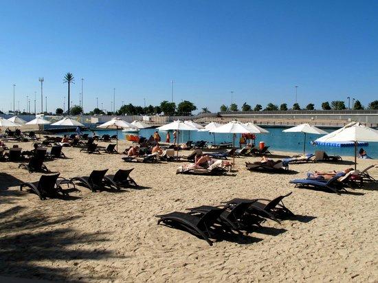 Sheraton Abu Dhabi Hotel & Resort : beach