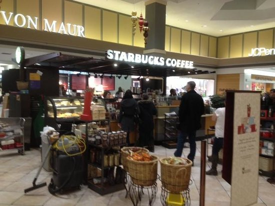 Starbucks : View from inside Mall