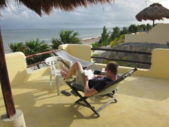 Hotel Maya Luna: rooftop balcony