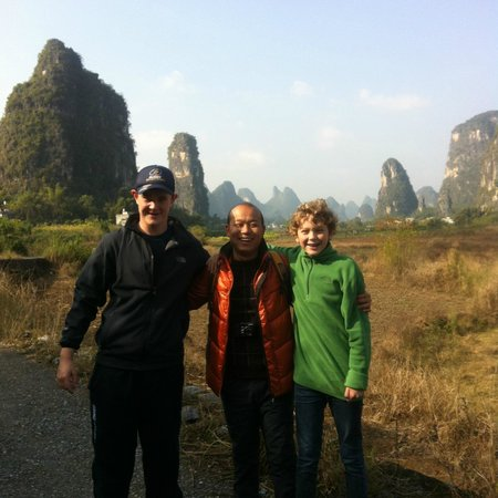 Yangshuo Private Tour-Day Tour: ytb (yeah the boys!)