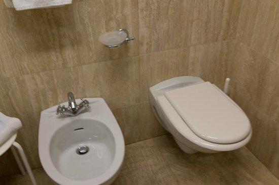 Astoria Suite Hotel : トイレ