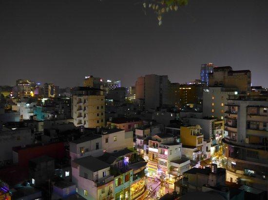 Duc Vuong Hotel : Blick von der Dachterrasse