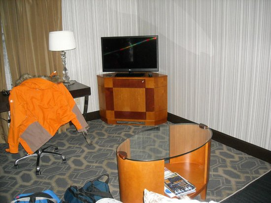 Sofitel Philadelphia Hotel: Our Jr suite