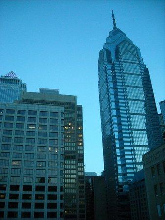Sofitel Philadelphia Hotel: Outside of our room