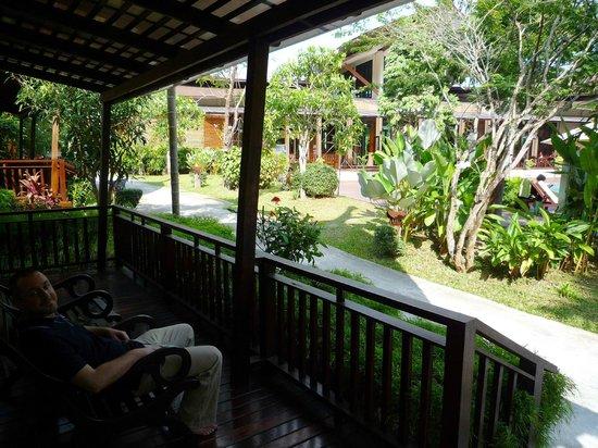 Aonang Phu Petra Resort, Krabi: vue
