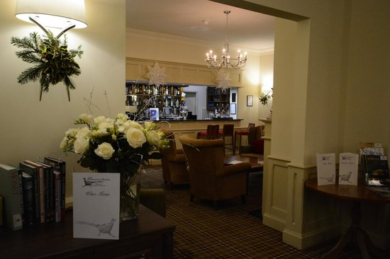 The Pheasant Hotel : Bar and Lounge
